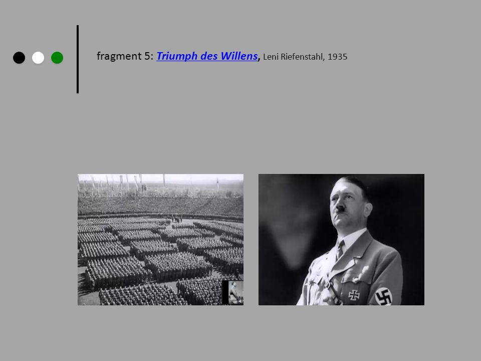 fragment 5: Triumph des Willens, Leni Riefenstahl, 1935