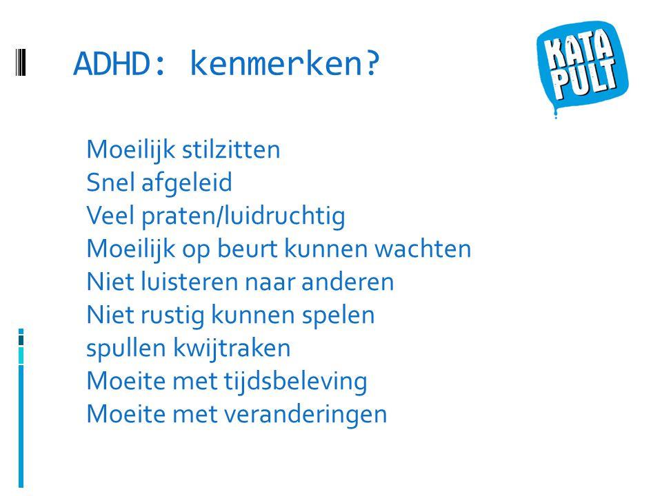 ADHD: kenmerken