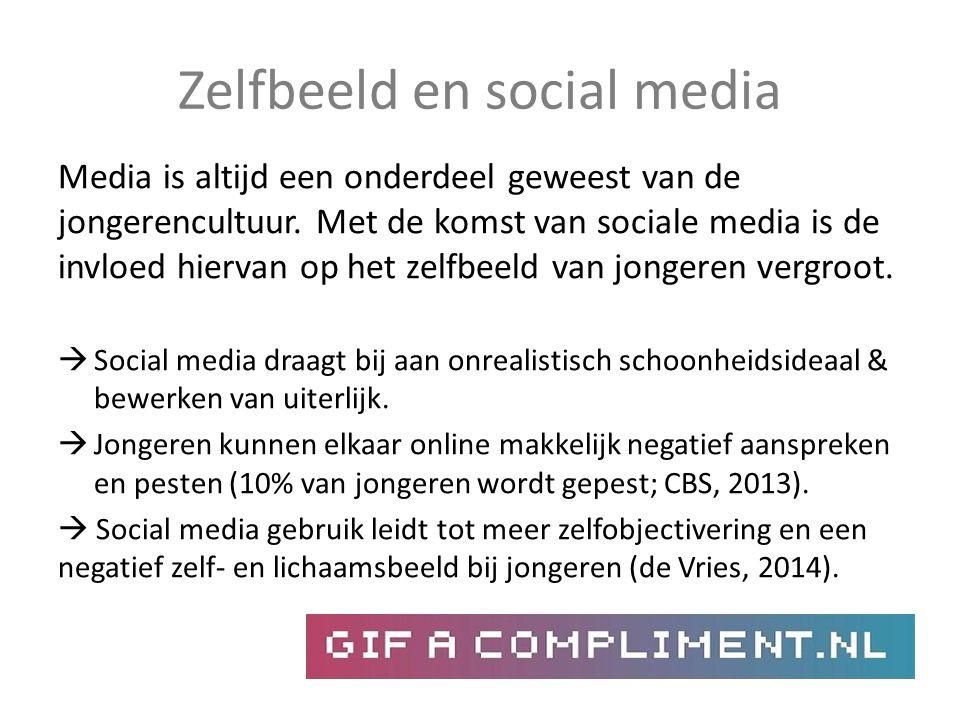 Zelfbeeld en social media