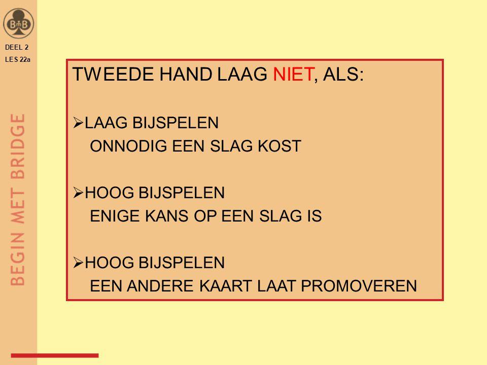 TWEEDE HAND LAAG NIET, ALS: