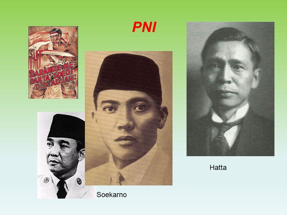 PNI Hatta Soekarno