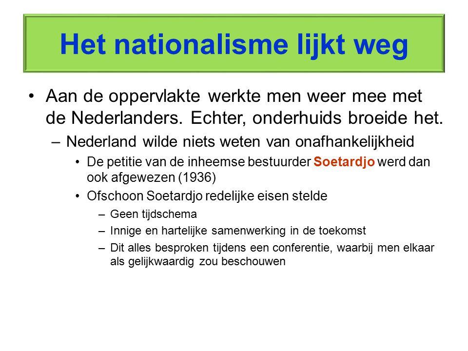 Het nationalisme lijkt weg