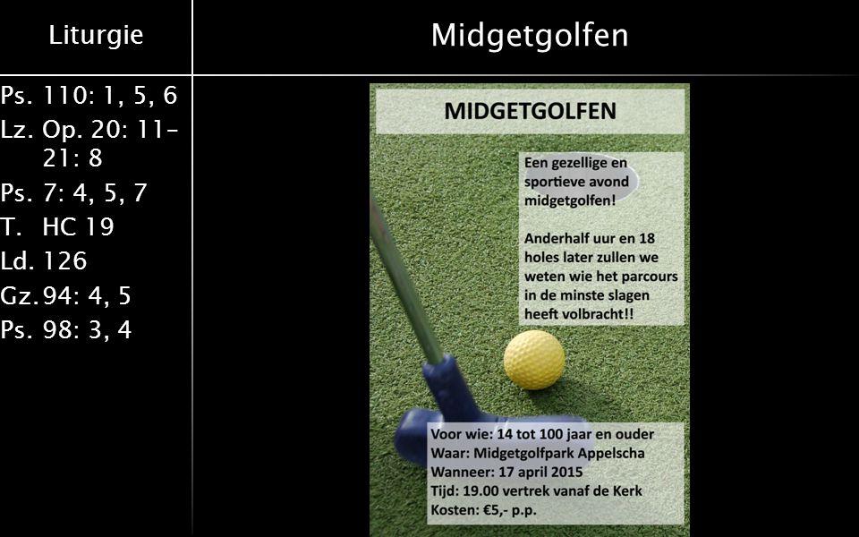 Midgetgolfen