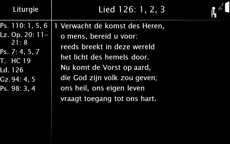 Lied 126: 1, 2, 3