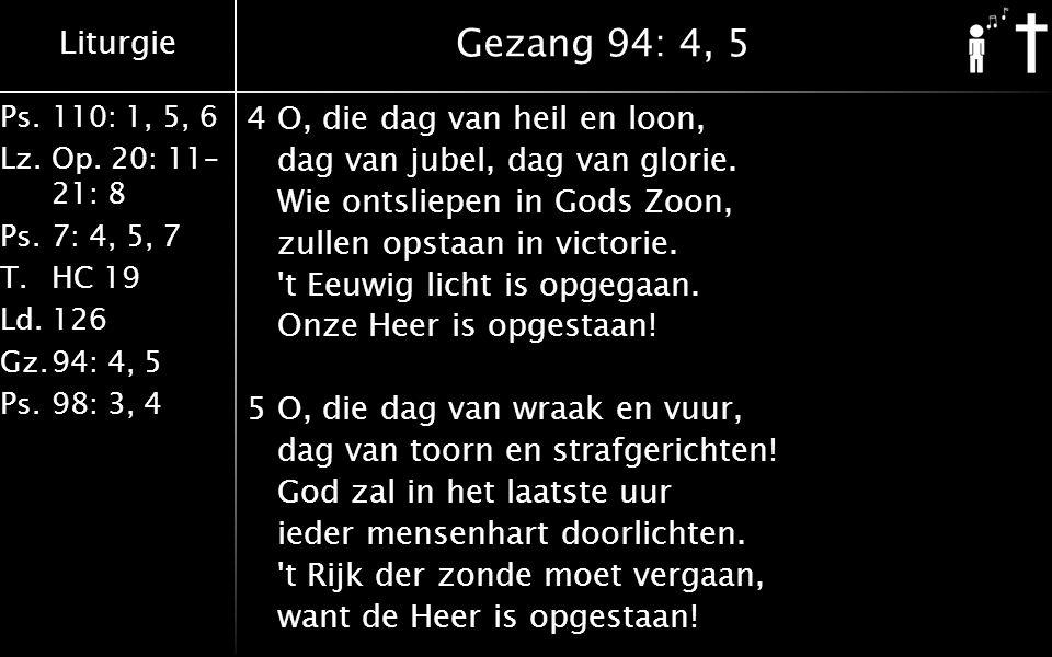 Gezang 94: 4, 5
