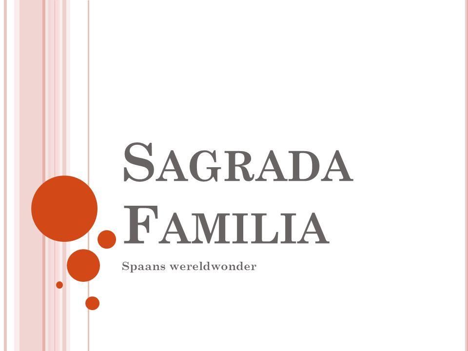 Sagrada Familia Spaans wereldwonder