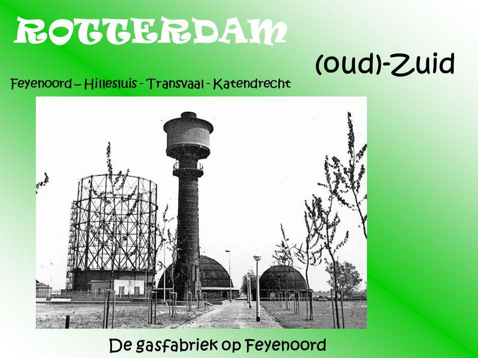 ROTTERDAM (oud)-Zuid De gasfabriek op Feyenoord