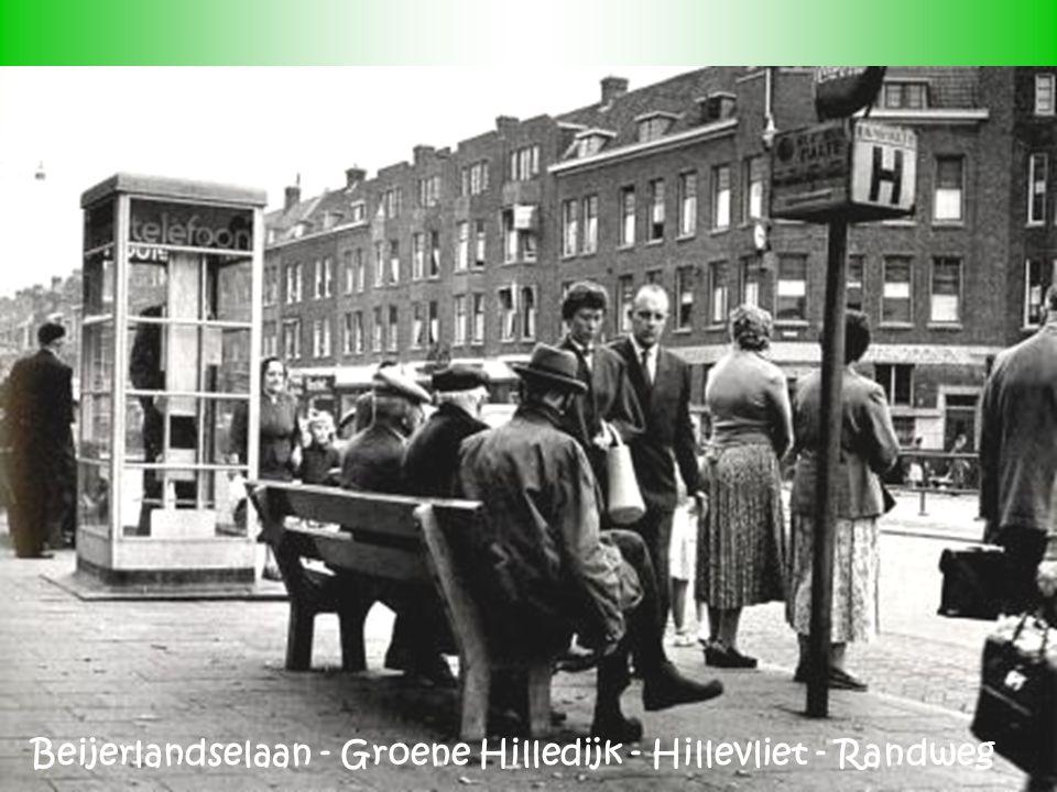Beijerlandselaan - Groene Hilledijk - Hillevliet - Randweg