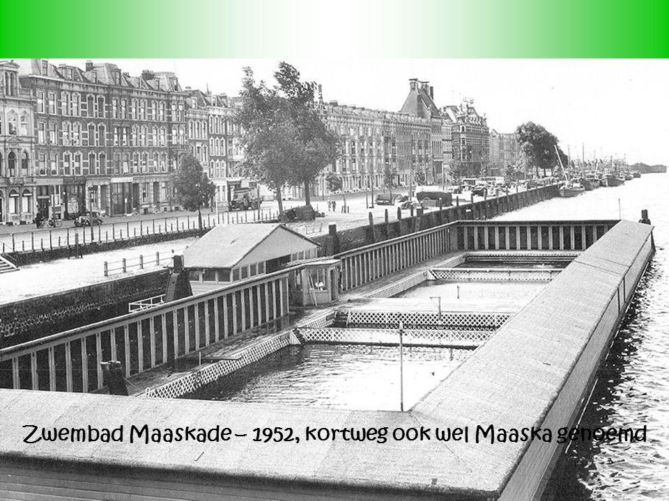 Zwembad Maaskade – 1952, kortweg ook wel Maaska genoemd