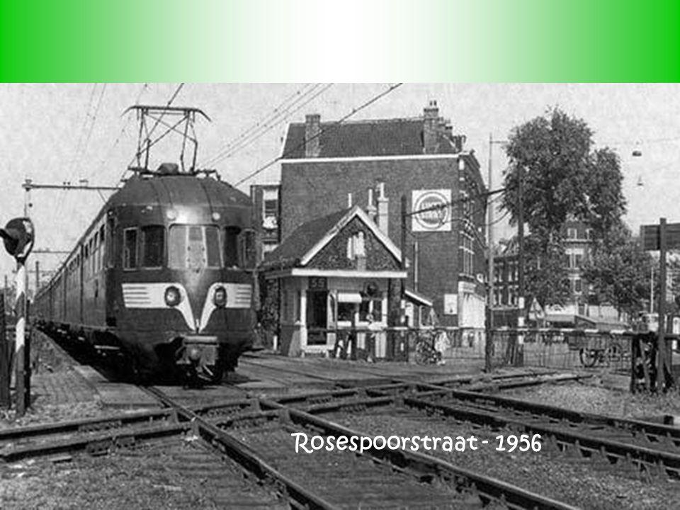 Rosespoorstraat - 1956