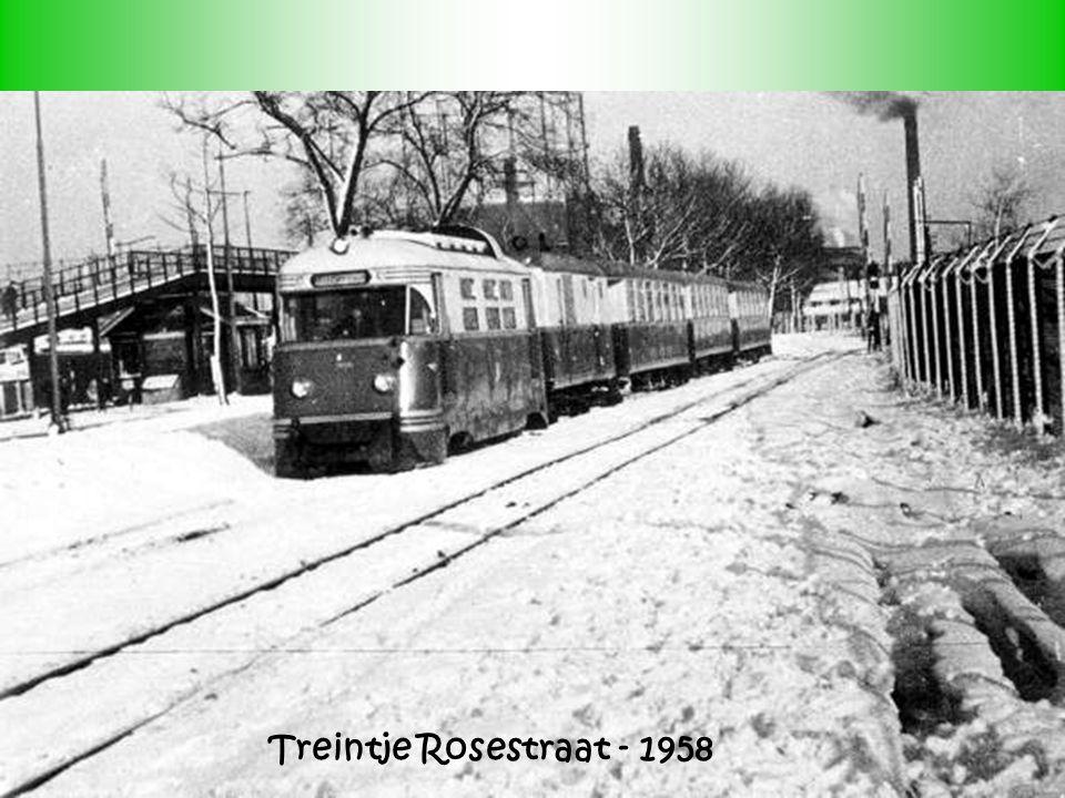 Treintje Rosestraat - 1958 7