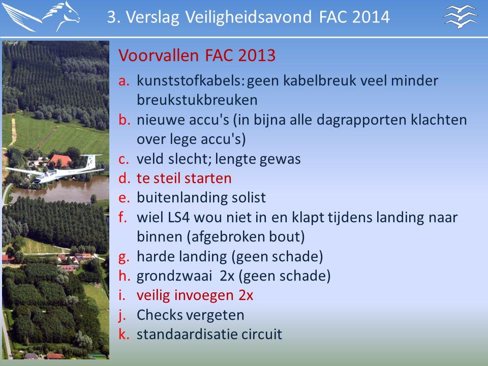 3. Verslag Veiligheidsavond FAC 2014
