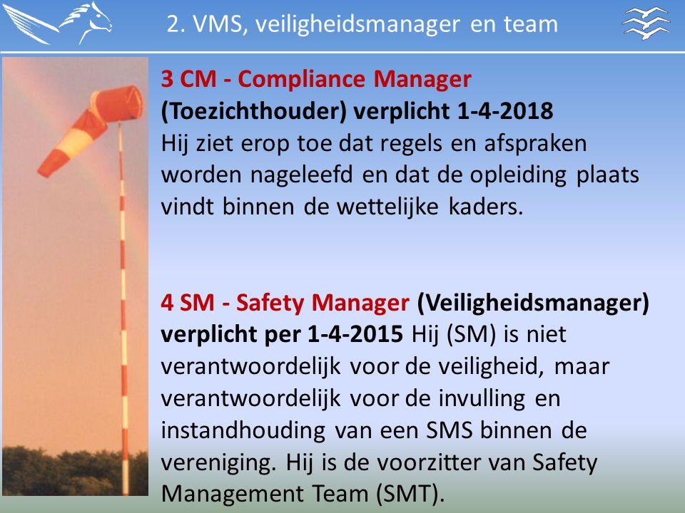 2. VMS, veiligheidsmanager en team