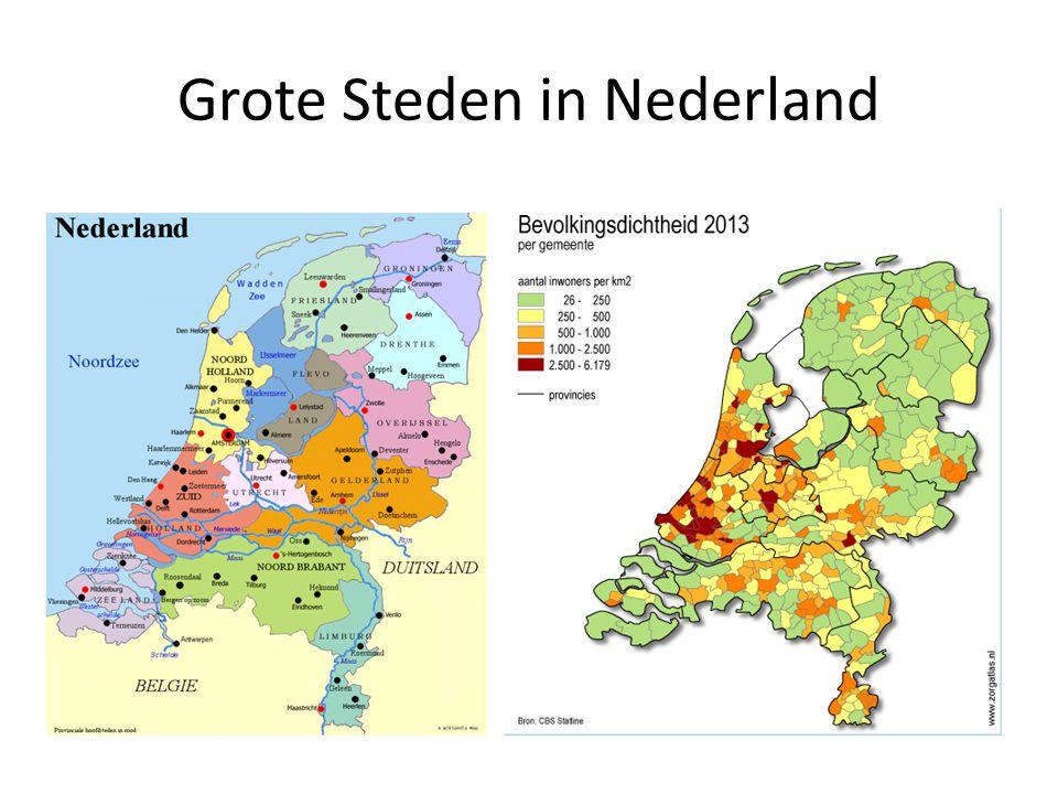 Grote Steden in Nederland
