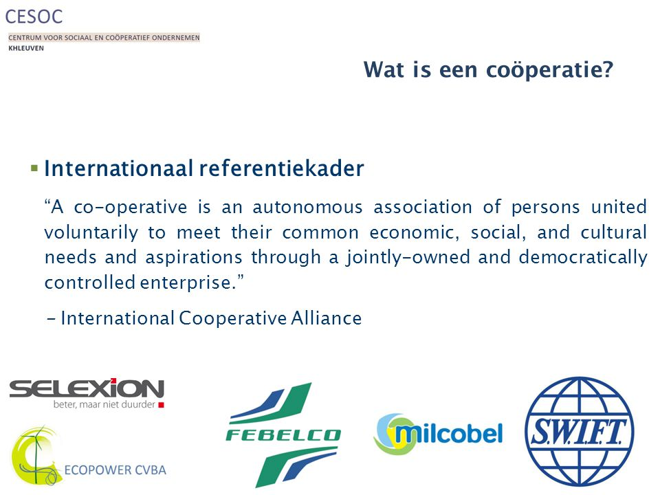 Internationaal referentiekader