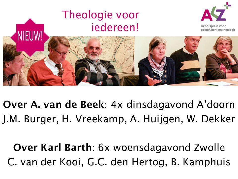 NIEUW! Theologie voor iedereen!