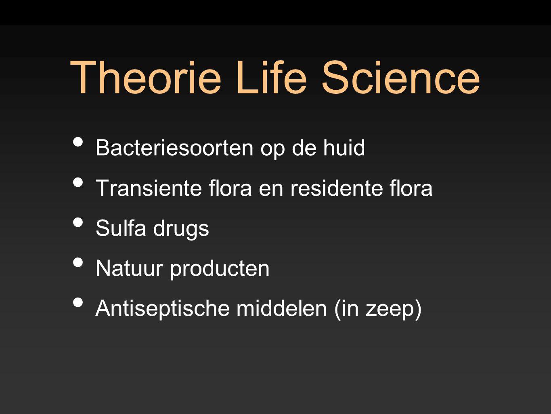 Theorie Life Science Bacteriesoorten op de huid