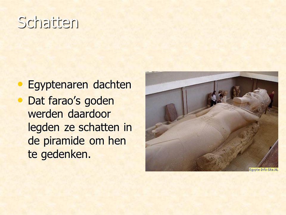 Schatten Egyptenaren dachten