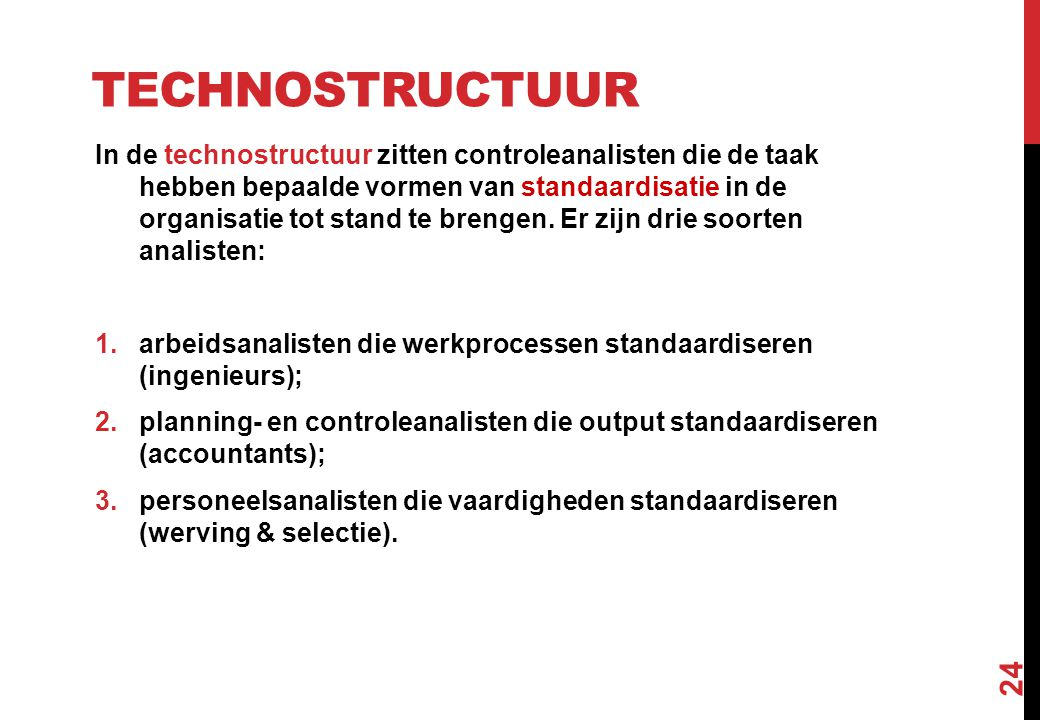 Technostructuur