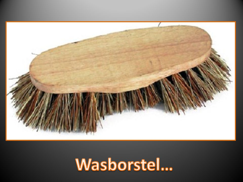 Wasborstel…