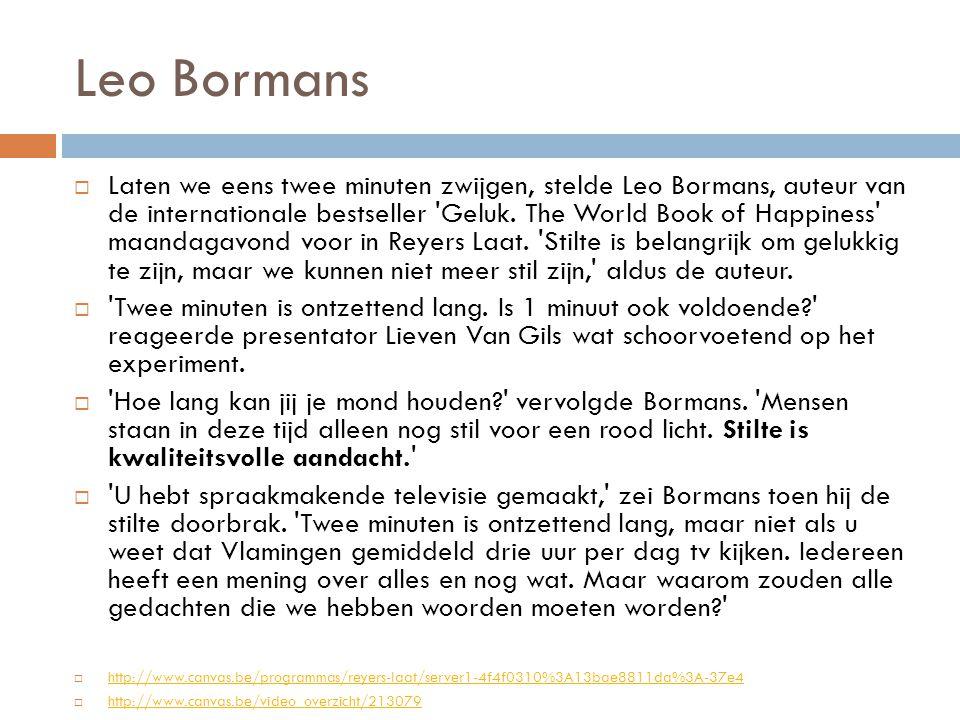 Leo Bormans