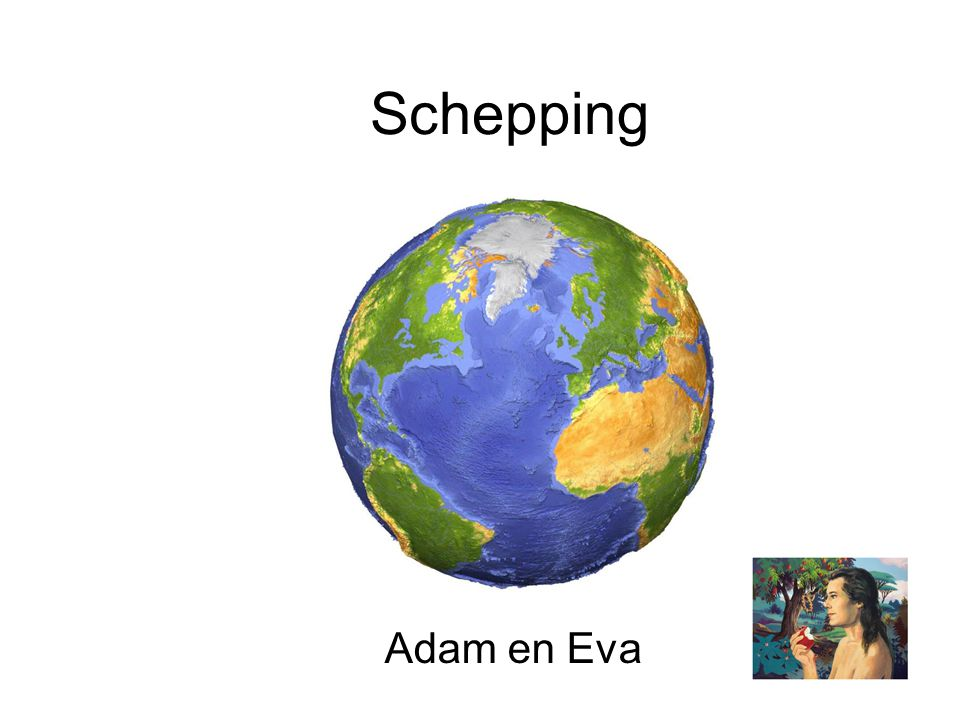 Schepping Adam en Eva