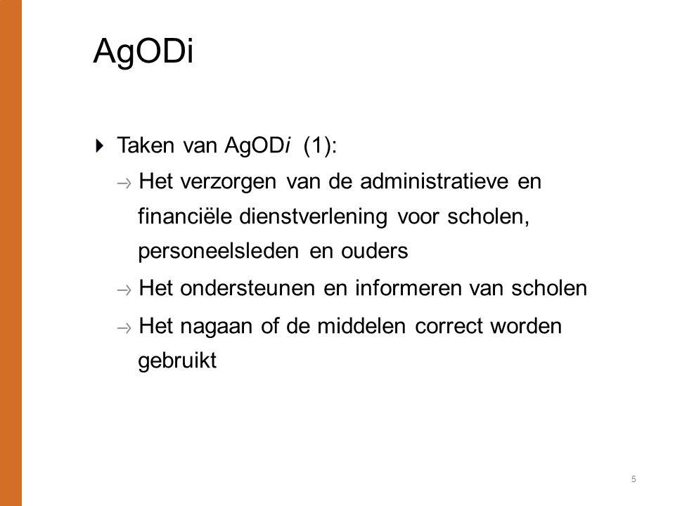 AgODi Taken van AgODi (1):
