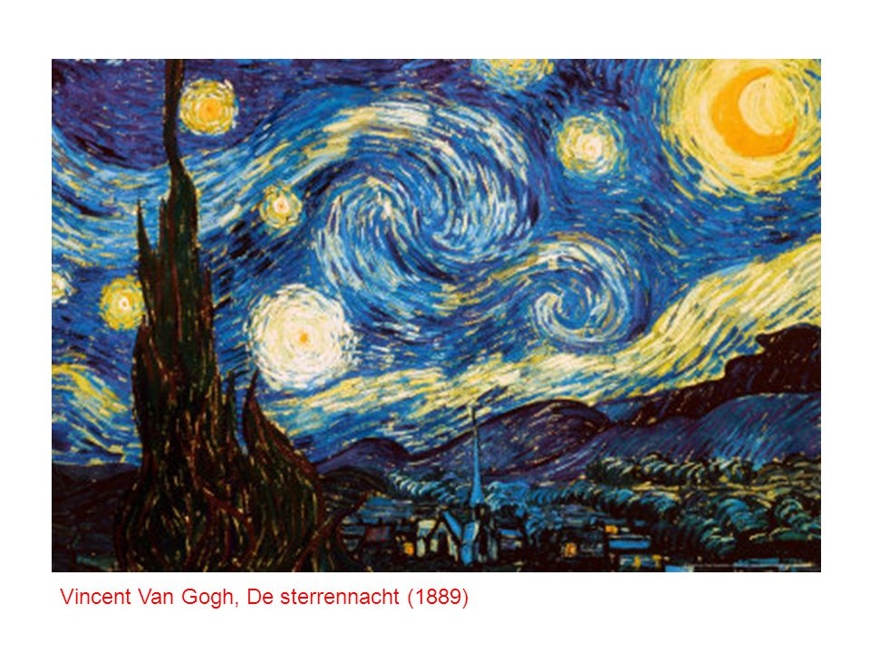 Vincent Van Gogh, De sterrennacht (1889)
