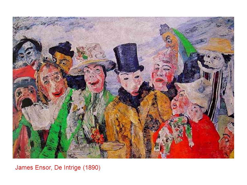 James Ensor, De Intrige (1890)