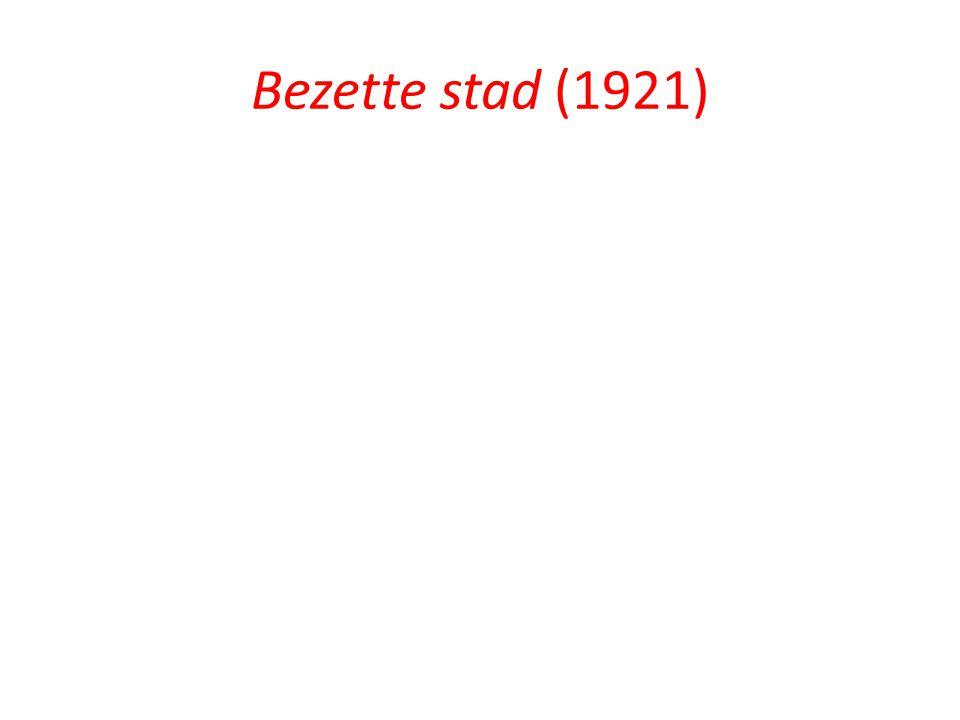 Bezette stad (1921)