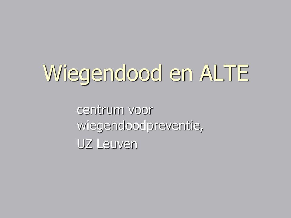 centrum voor wiegendoodpreventie, UZ Leuven