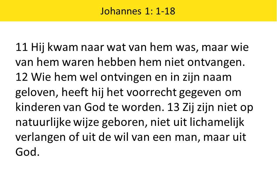 Johannes 1: 1-18