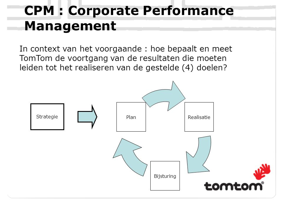 CPM : Corporate Performance Management