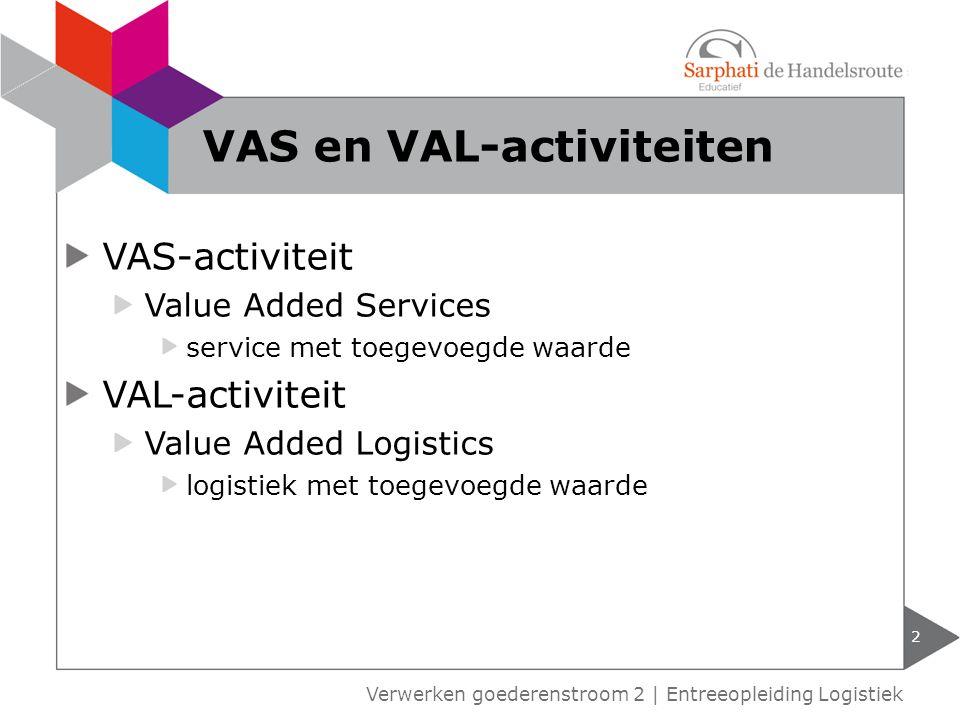 VAS en VAL-activiteiten