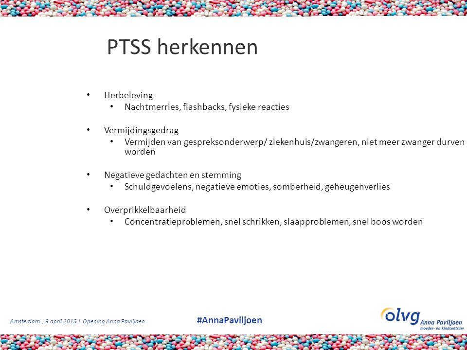 PTSS herkennen Herbeleving Nachtmerries, flashbacks, fysieke reacties