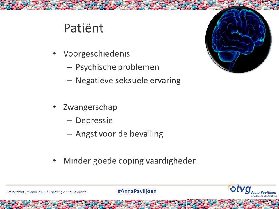 Patiënt Voorgeschiedenis Psychische problemen