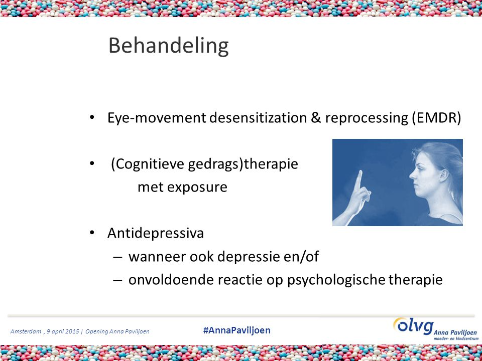 Behandeling Eye-movement desensitization & reprocessing (EMDR)