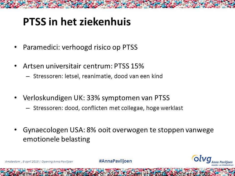 PTSS in het ziekenhuis Paramedici: verhoogd risico op PTSS
