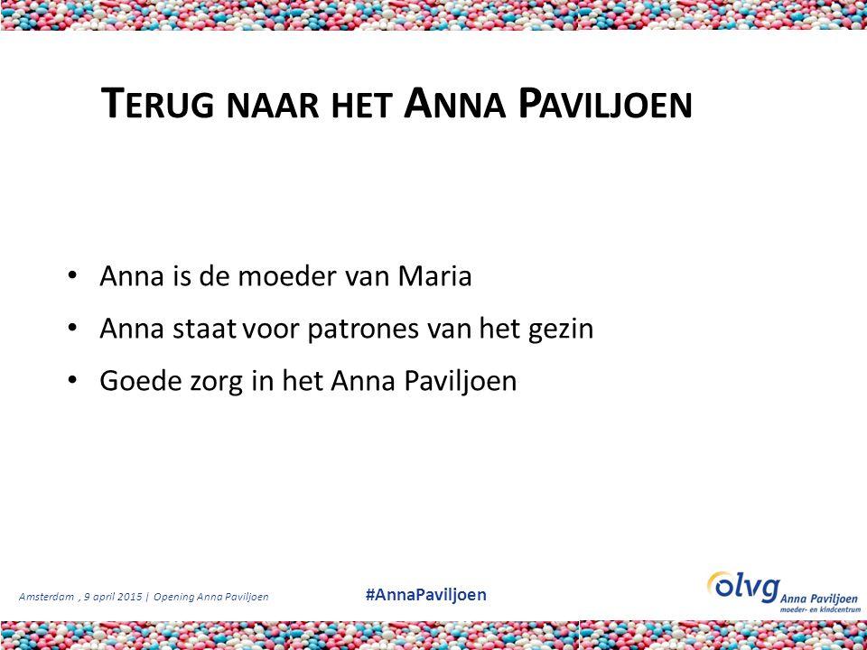 Terug naar het Anna Paviljoen