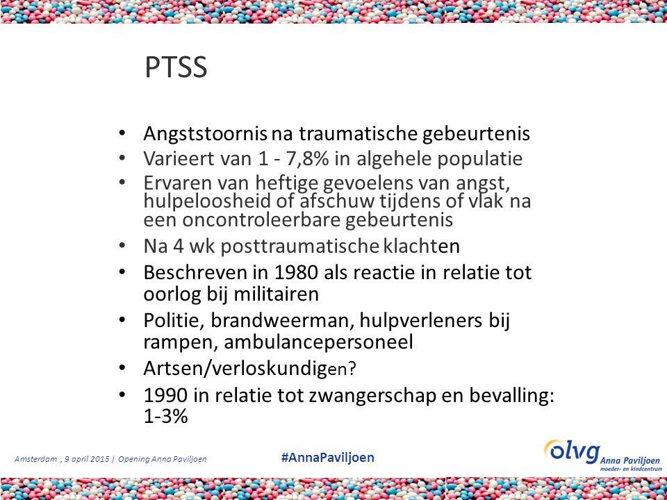 PTSS Angststoornis na traumatische gebeurtenis