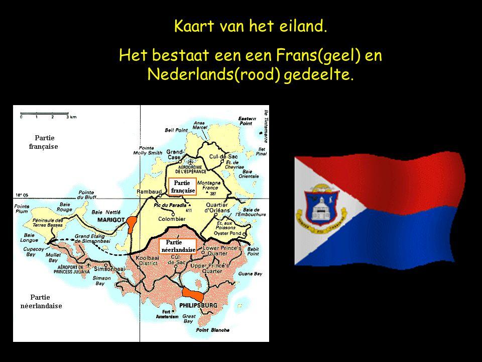 Het bestaat een een Frans(geel) en Nederlands(rood) gedeelte.