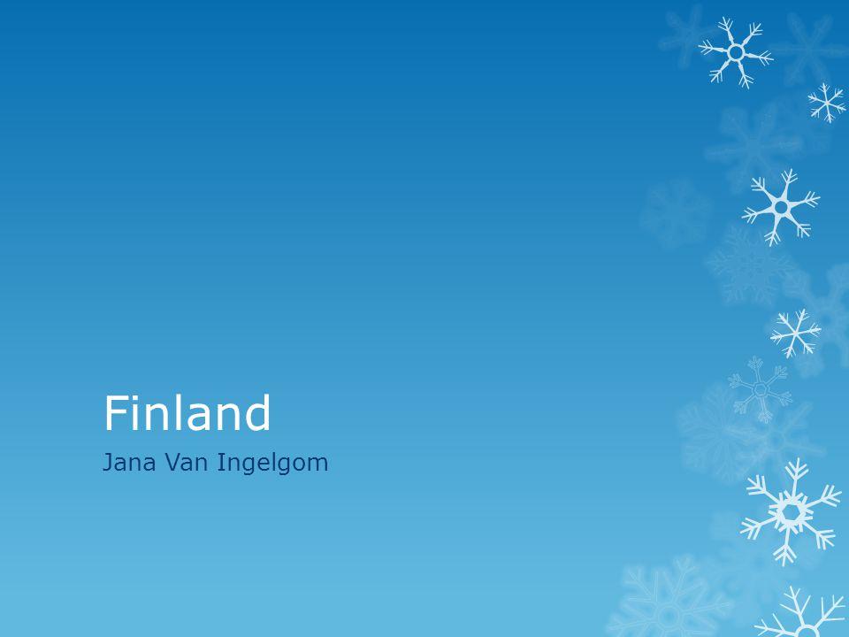 Finland Jana Van Ingelgom
