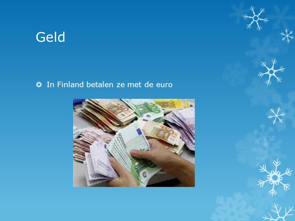 Geld In Finland betalen ze met de euro