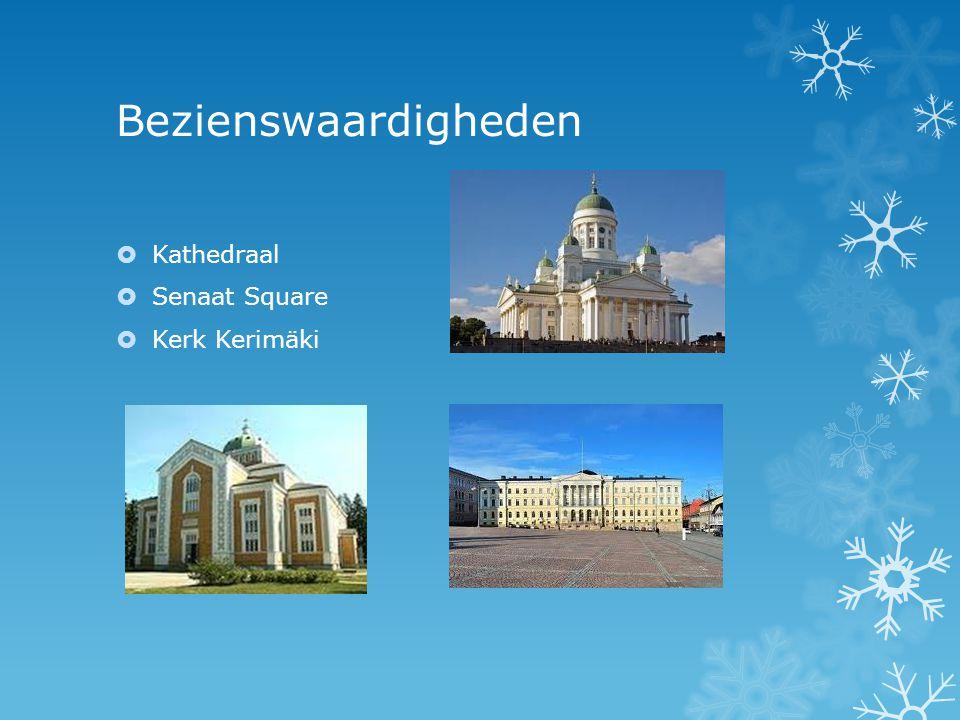 Bezienswaardigheden Kathedraal Senaat Square Kerk Kerimäki
