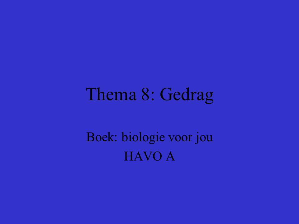 Boek: biologie voor jou HAVO A
