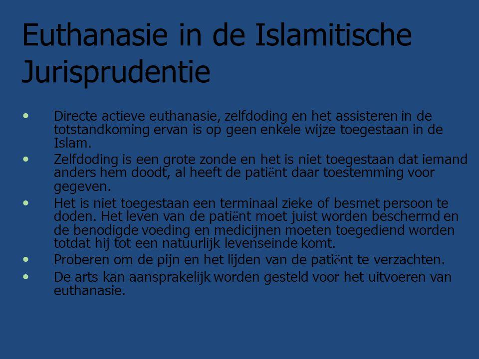 Euthanasie in de Islamitische Jurisprudentie