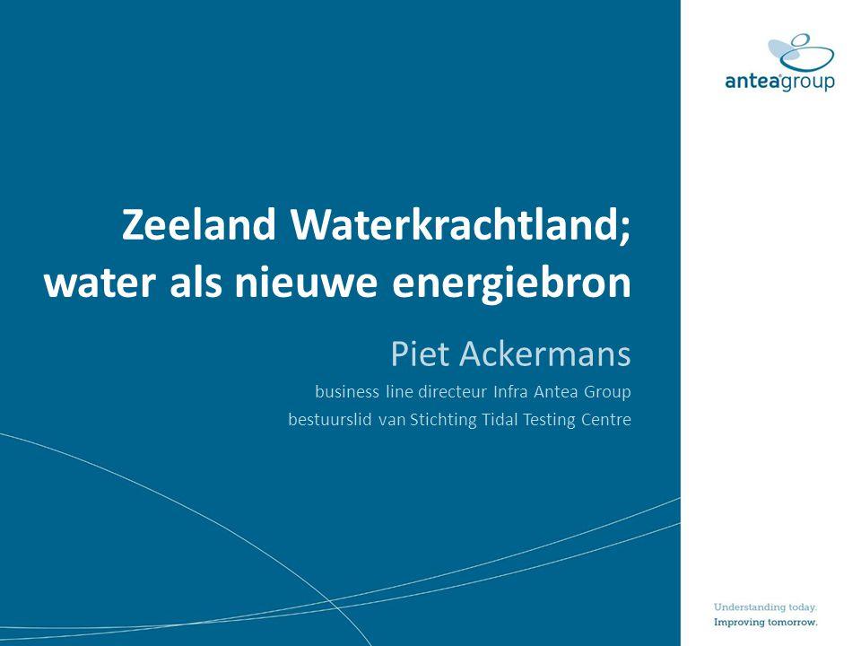 Zeeland Waterkrachtland; water als nieuwe energiebron