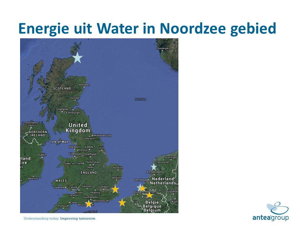 Energie uit Water in Noordzee gebied