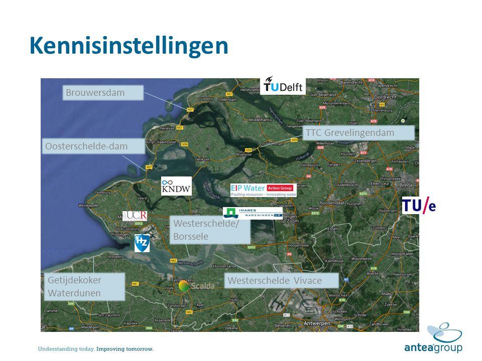 Kennisinstellingen Brouwersdam TTC Grevelingendam Oosterschelde-dam