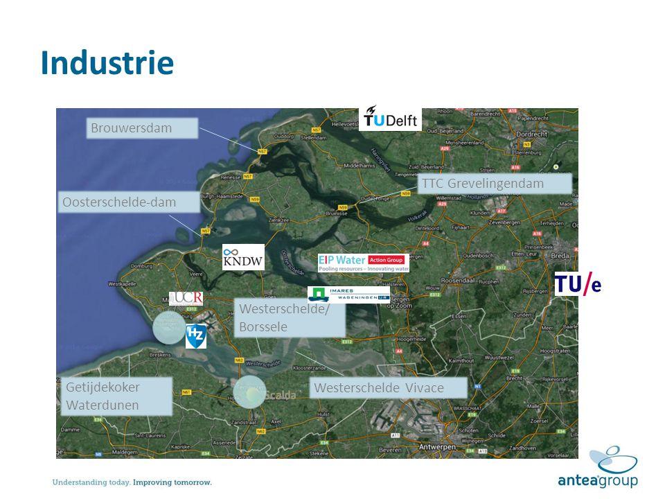 Industrie Brouwersdam TTC Grevelingendam Oosterschelde-dam